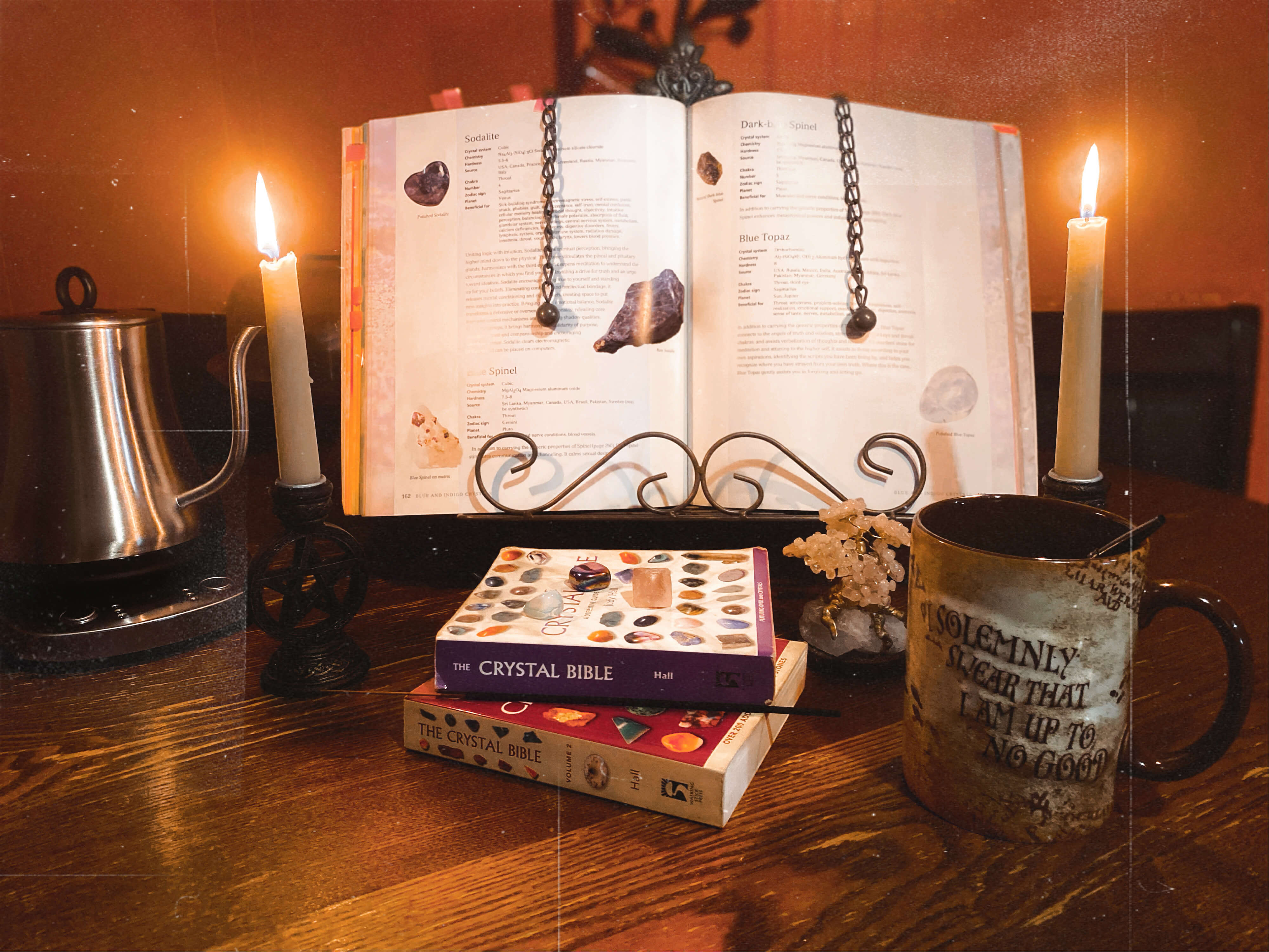 3 Must Have Books For Crystal Work | Tia Johnson